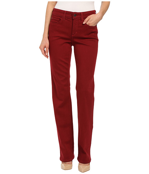 NYDJ - Marilyn BQ Luxury Touch Straight (Poinsettia) Women's Casual Pants