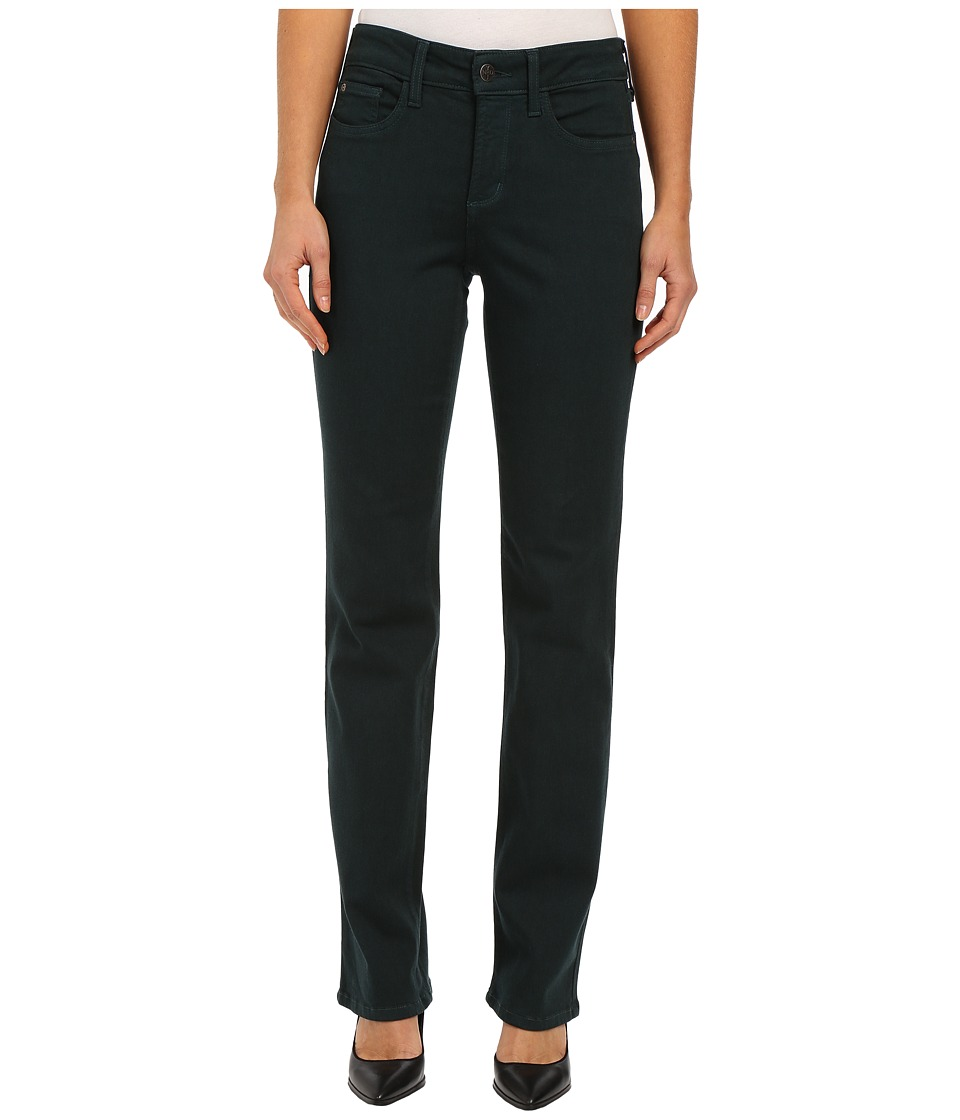 NYDJ - Marilyn BQ Luxury Touch Straight (Evergreen Forest) Women's Casual Pants