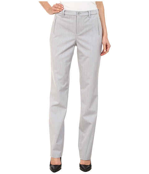 NYDJ - Sandrah Slim Career Trouser (Pearl Grey) Women's Casual Pants
