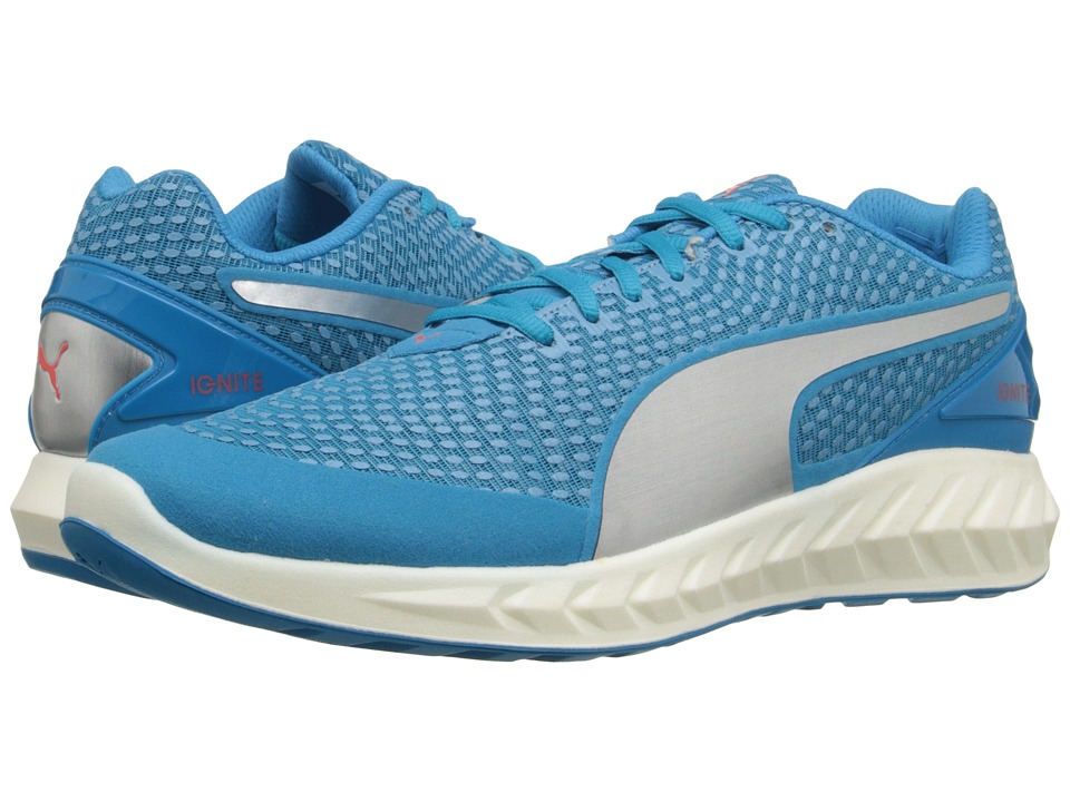 PUMA - Ignite Ultimate 3D (Atomic Blue/Puma Silver) Men's Shoes