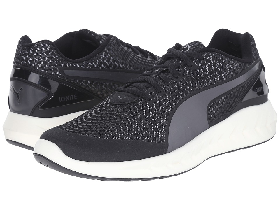 PUMA - Ignite Ultimate 3D (Black/Aged Silver) Men's Shoes