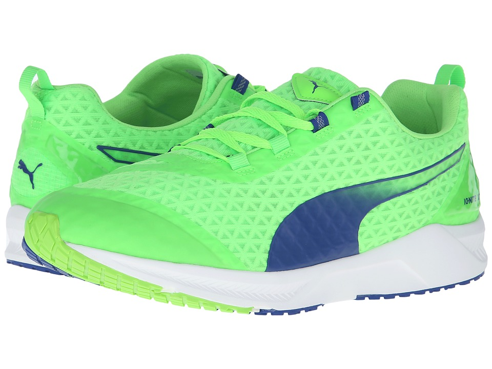 PUMA - Ignite XT Filtered (Green Gecko/Surf The Web) Men's Shoes