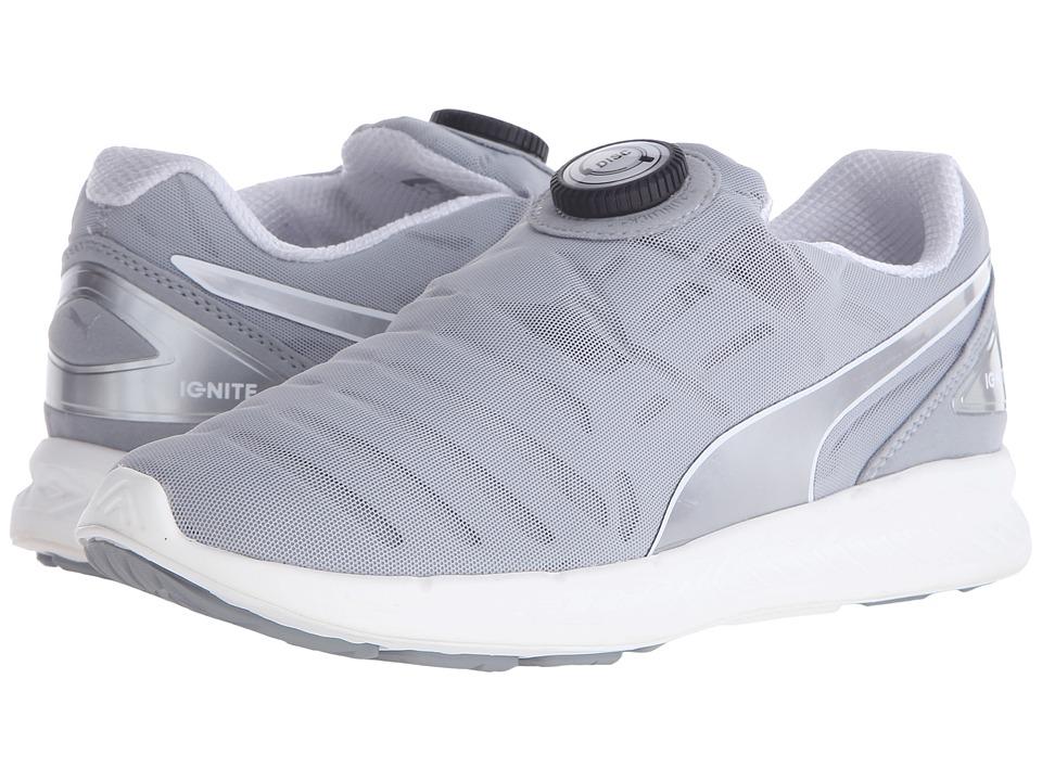 PUMA - Ignite Disc (Quarry/Puma Silver) Women's Shoes