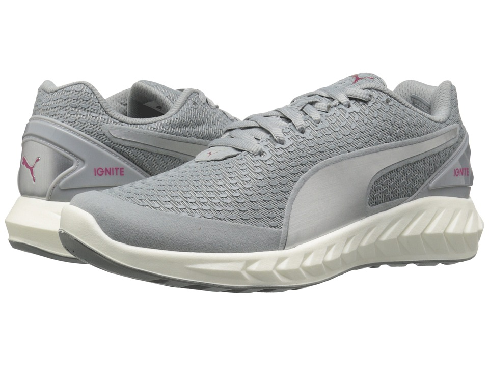 PUMA - Ignite Ultimate 3D (Quarry/Silver Metallic) Women's Shoes