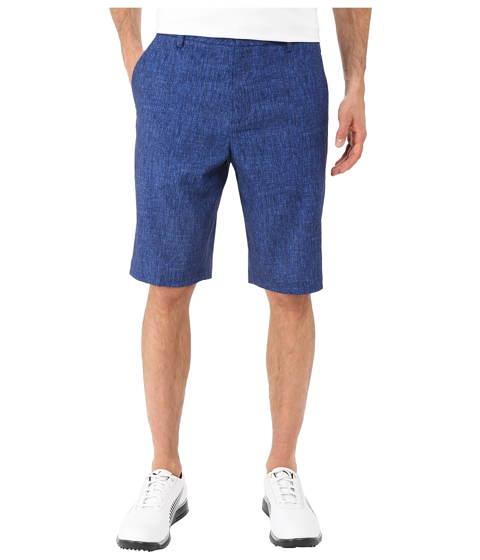 PUMA Golf - Print Shorts (Peacoat) Men's Shorts