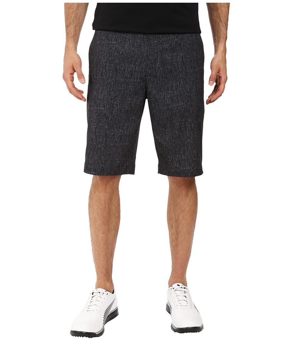PUMA Golf - Print Shorts (Black) Men's Shorts