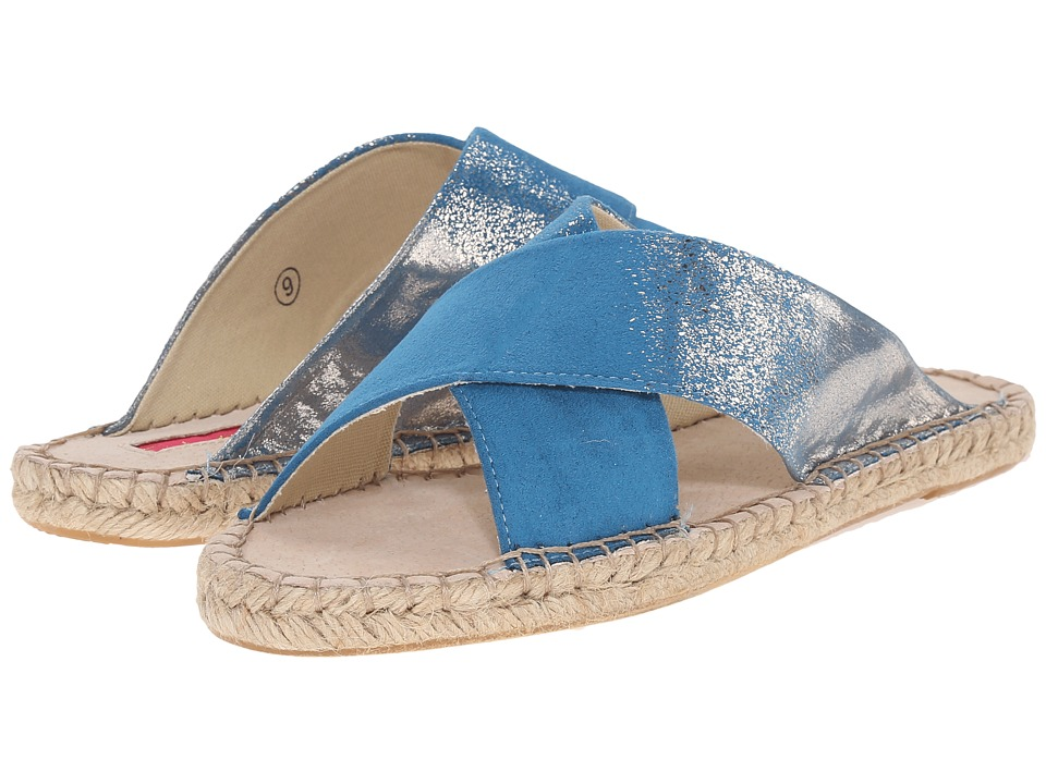 C Label - Cider-1 (Blue) Women's Slide Shoes
