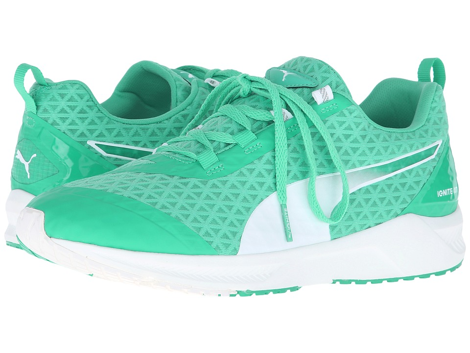 PUMA - Ignite XT Filtered (Mint Leaf/White) Women's Shoes