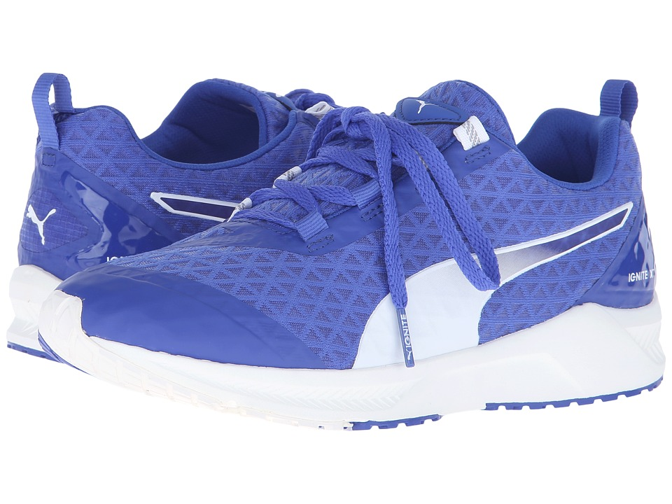 PUMA - Ignite XT Filtered (Dazzling Blue/White) Women's Shoes