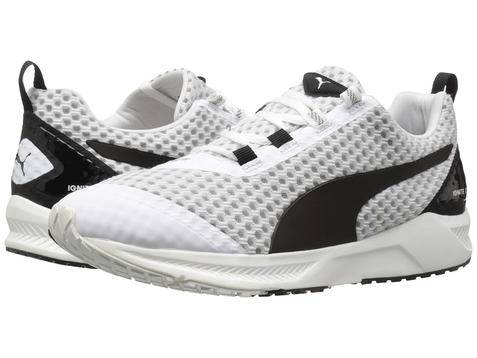PUMA - Ignite XT Core (White/Black) Women's Shoes
