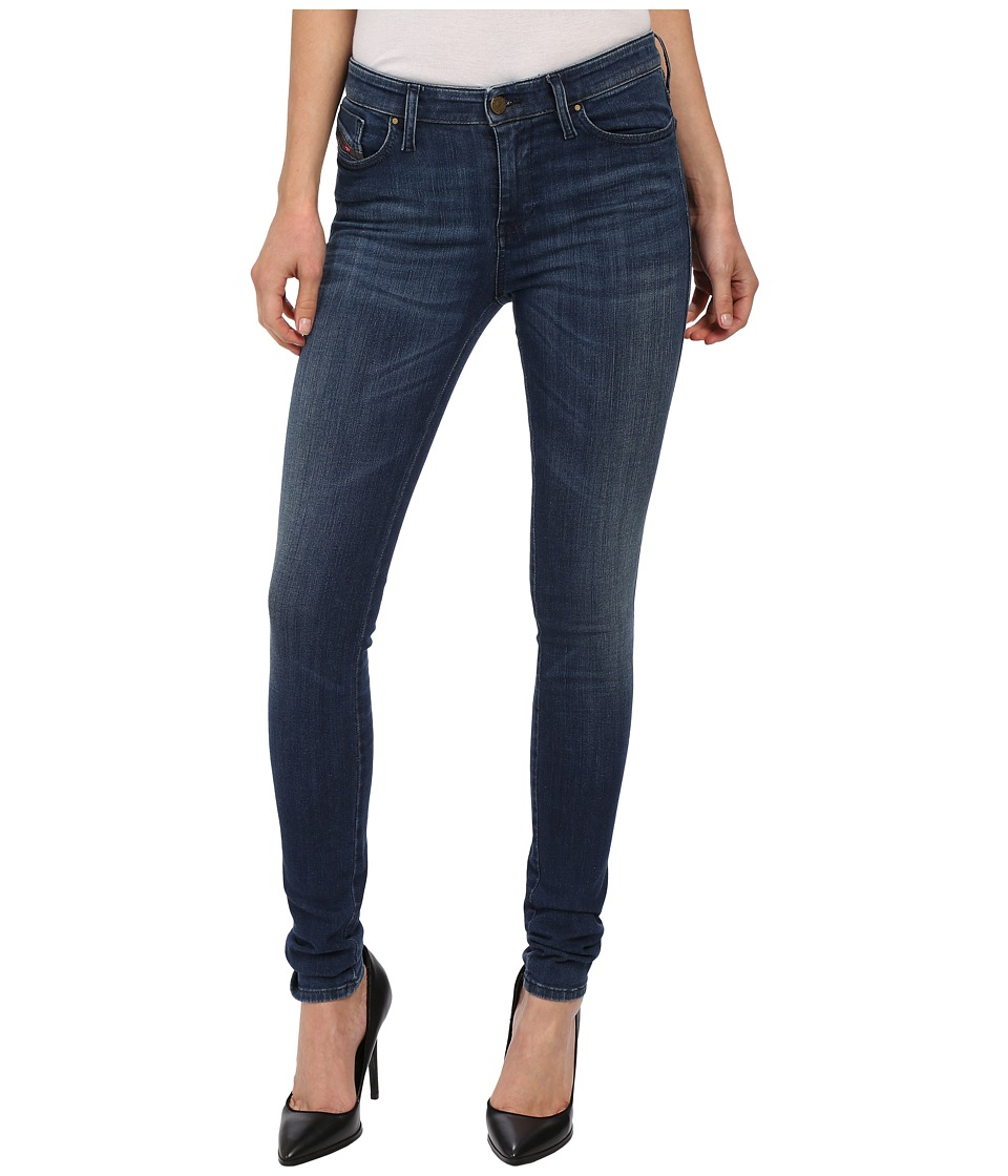 Diesel - Skinzee L.32 Trousers 0844B (Denim) Women's Jeans