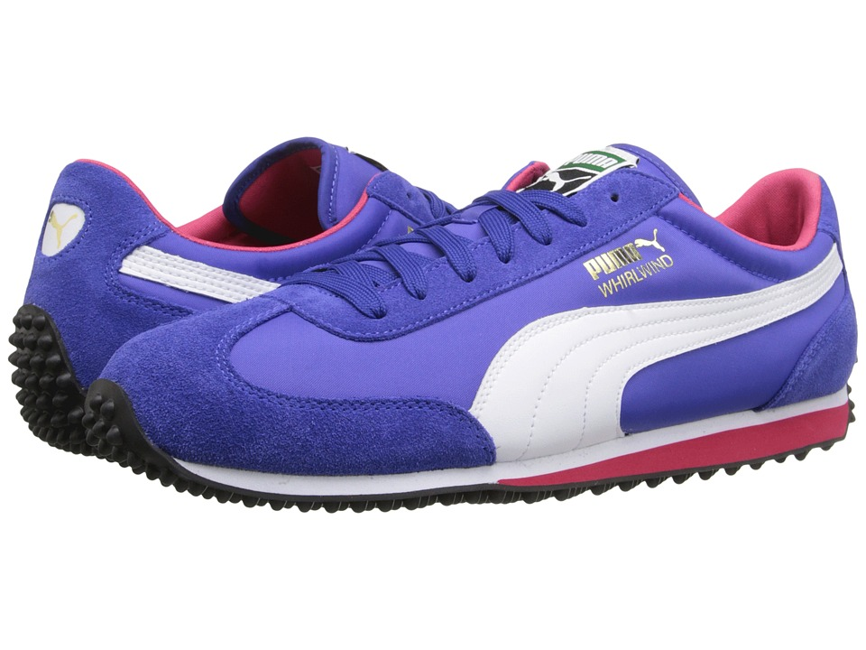 PUMA - Whirlwind Classic (Dazzling Blue/White/Rose Red) Men's Lace up casual Shoes