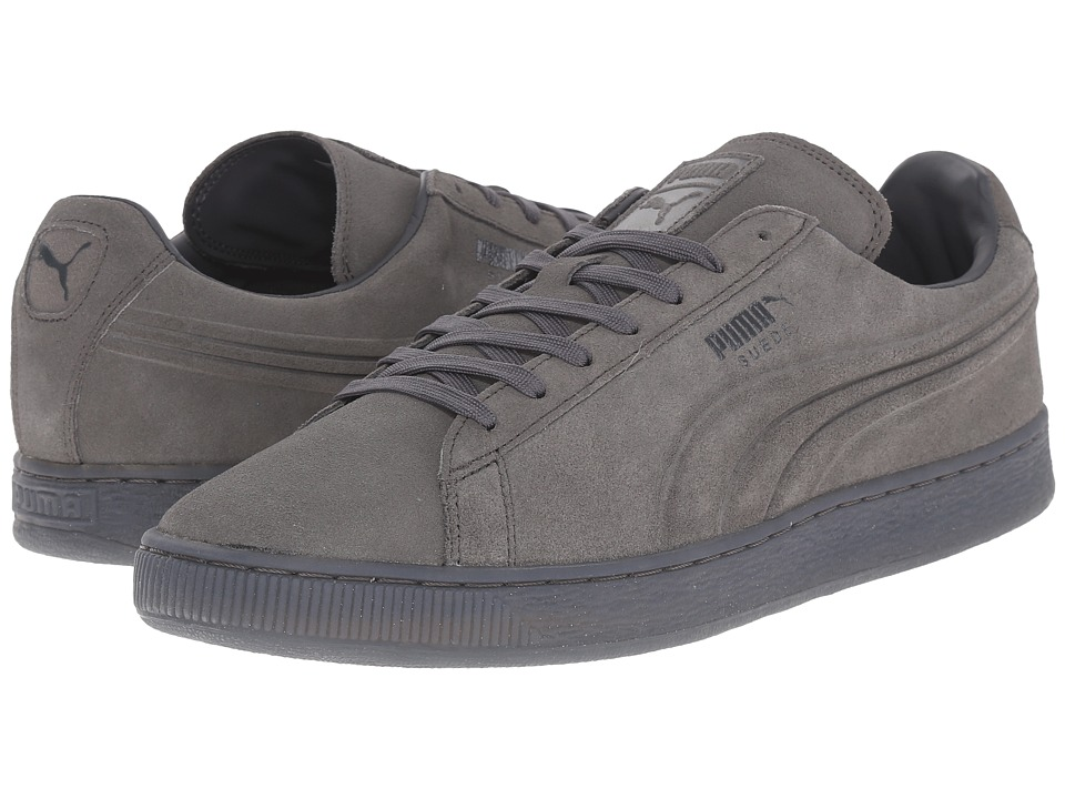PUMA - The Suede Emboss Iced (Dark Shadow) Men's Shoes