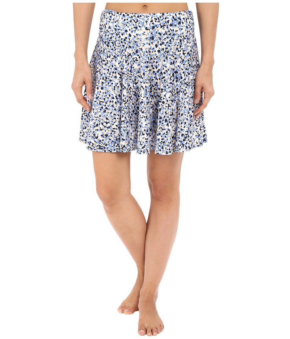MICHAEL Michael Kors Chilitington Skirted Cover-Up (New Navy) Women