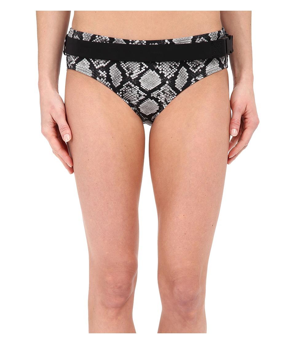 MICHAEL Michael Kors - King Cobra Hipster Bottom (Black) Women's Swimwear