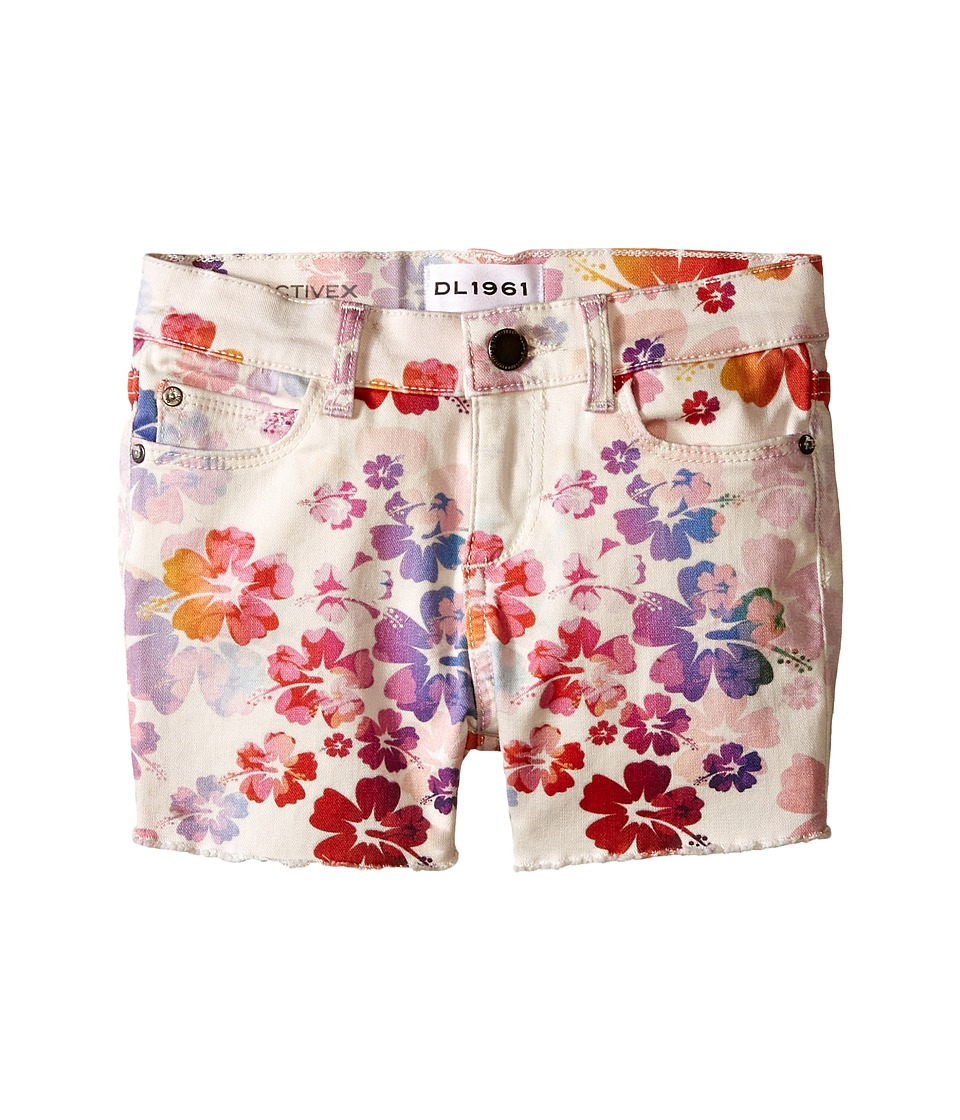 DL1961 Kids - Lucy Shorts in Marmalade (Toddler/Little Kids) (Marmalade) Girl's Shorts