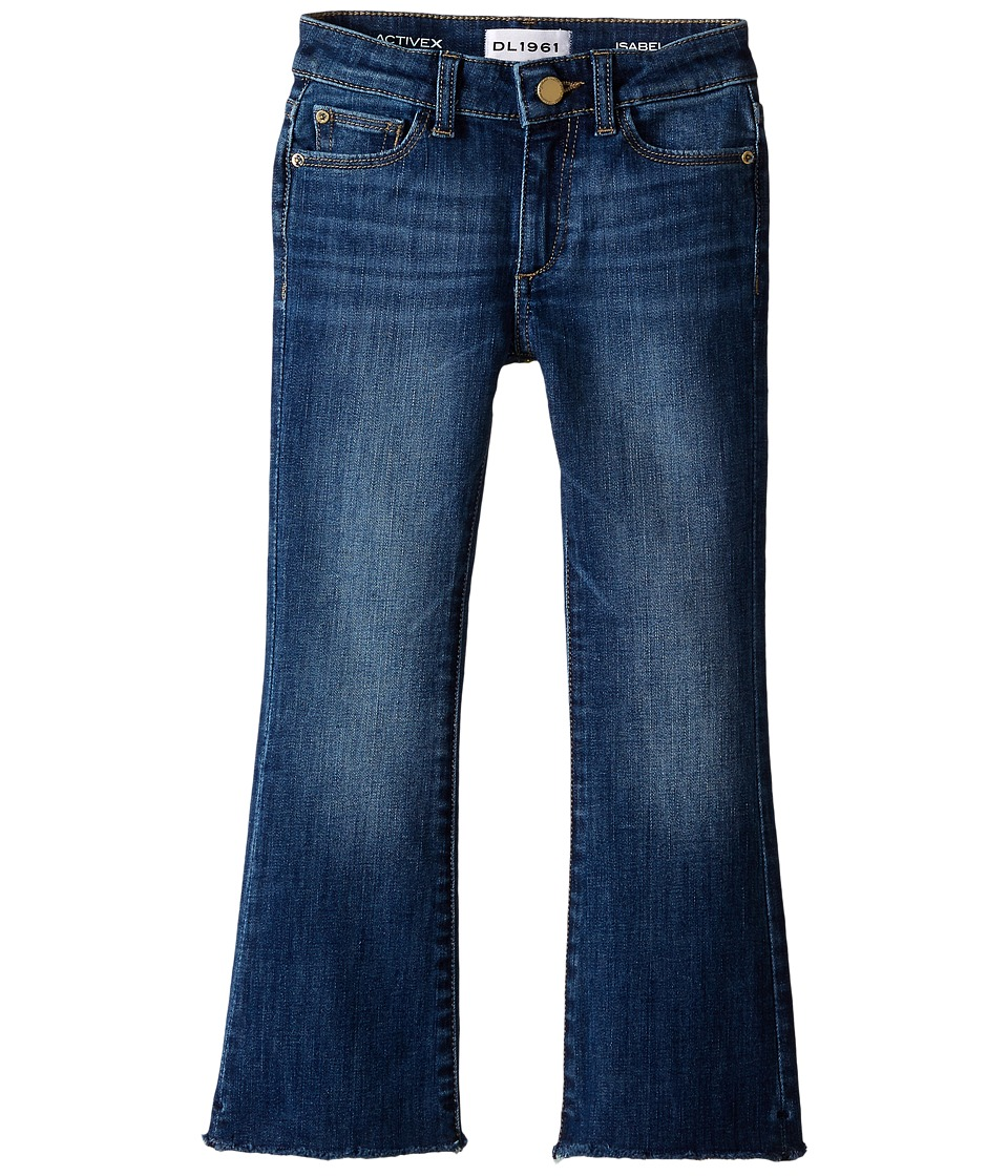 DL1961 Kids - Isabel Slim Boot Jeans in Cozy (Toddler/Little Kids) (Cozy) Girl's Clothing