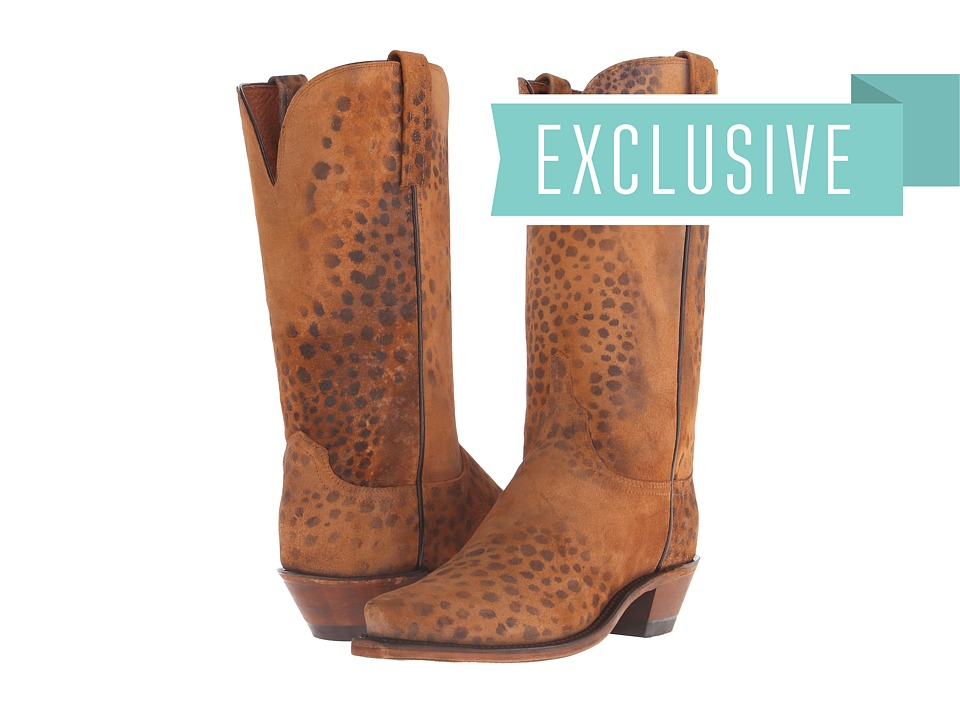 Lucchese - N9729.54 (Stonewashed Cheetah) Cowboy Boots