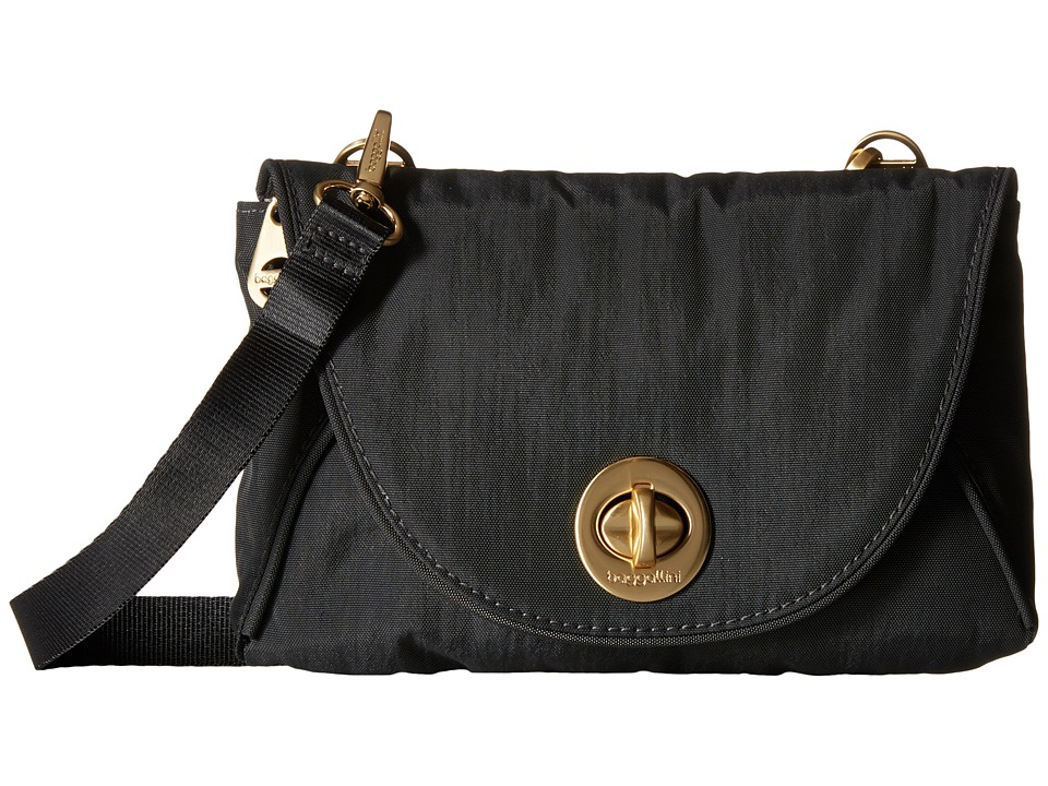 Baggallini - Gold Seville Mini (Charcoal) Cross Body Handbags