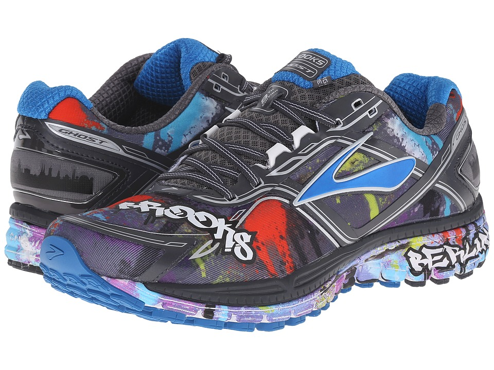Brooks Ghost 8 (Anthracite/Directorie Blue/White) Women