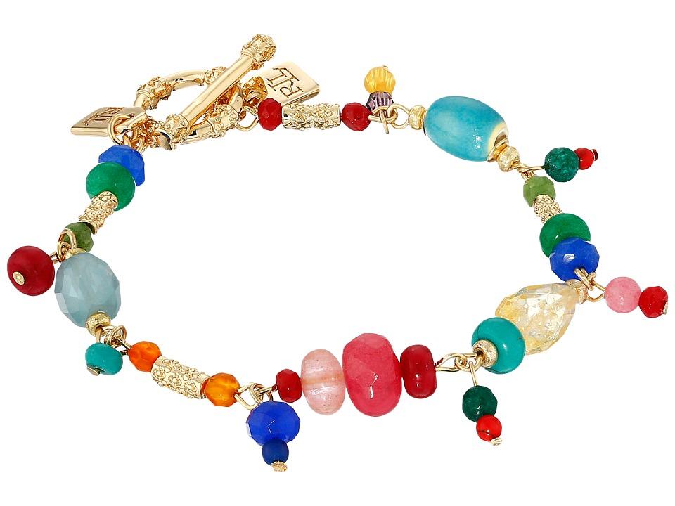 LAUREN Ralph Lauren - Fantastic Voyage 7 1/2 Multi Bead Bracelet (Multi/Gold) Bracelet