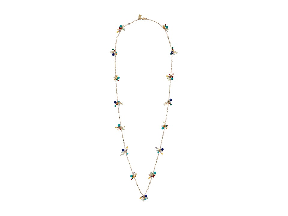 LAUREN Ralph Lauren - Fantastic Voyage 36 Multi Bead Cluster Necklace (Multi/Gold) Necklace