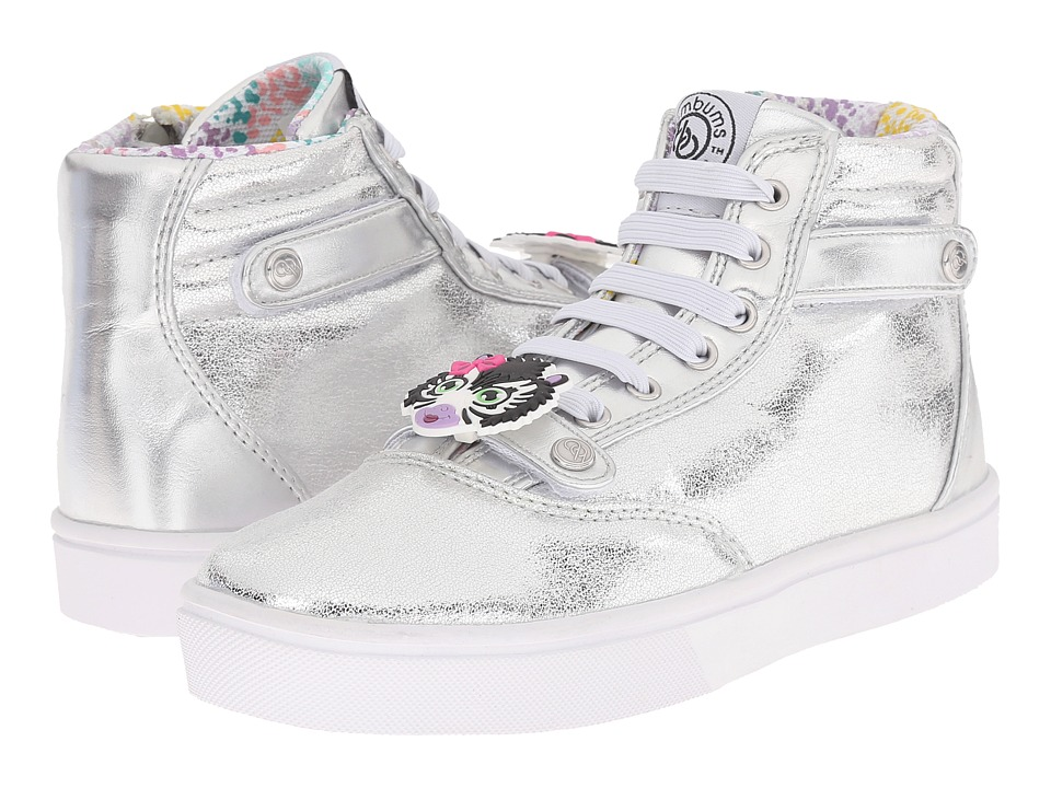 Bumbums & Baubles Brooklyn (Toddler/Little Kid/Big Kid) (Silver) Girls Shoes