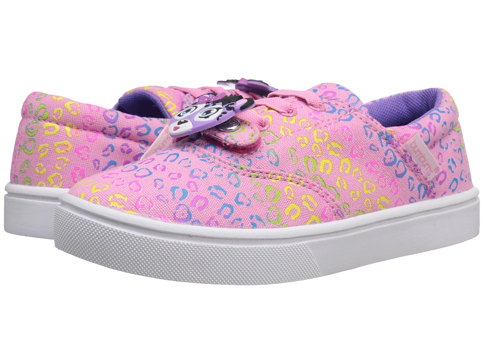 Bumbums & Baubles - Spencer (Toddler/Little Kid/Big Kid) (Rainbow Cheetah) Girls Shoes