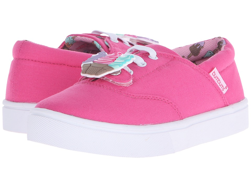 Bumbums & Baubles - Spencer (Toddler/Little Kid/Big Kid) (Hot Pink) Girls Shoes