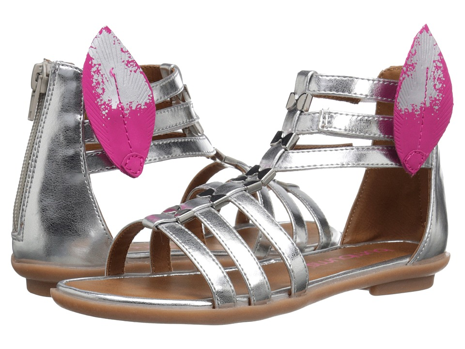 Bumbums & Baubles - Athena (Toddler/Little Kid/Big Kid) (Silver) Girls Shoes