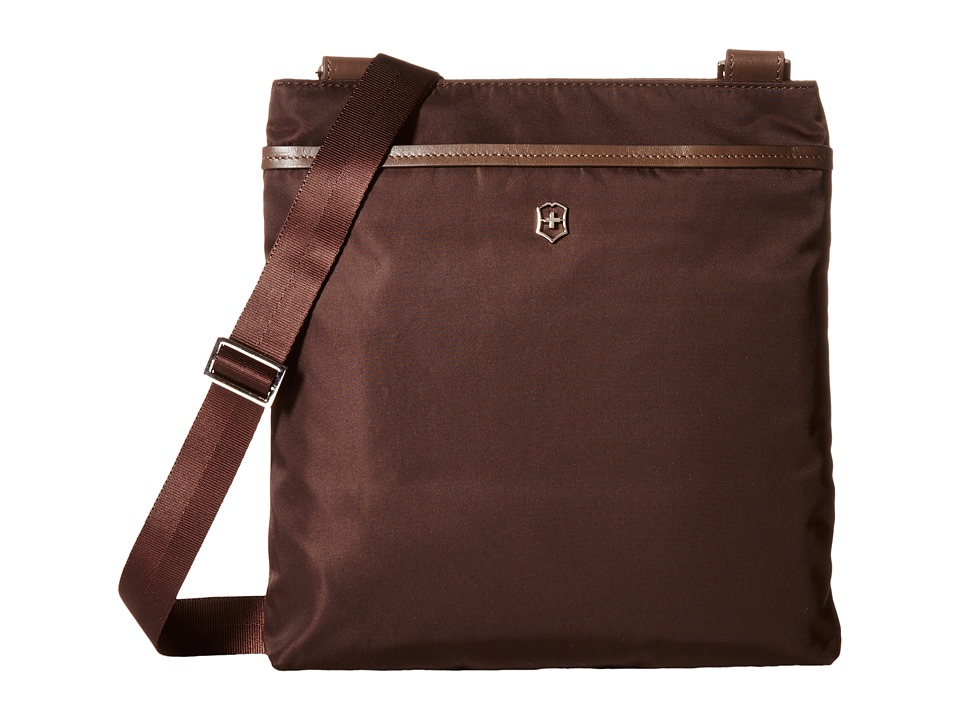 Victorinox - Victoria Affinity Crossbody Day Bag (Mocha Brown) Cross Body Handbags