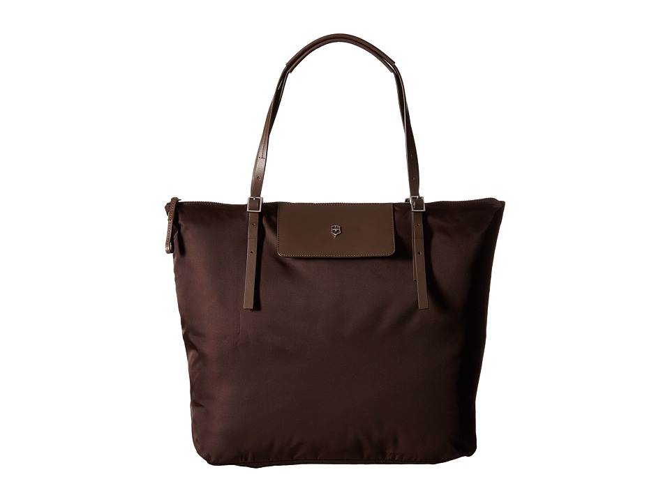 Victorinox - Victoria Grace Foldable Tote (Mocha Brown) Luggage
