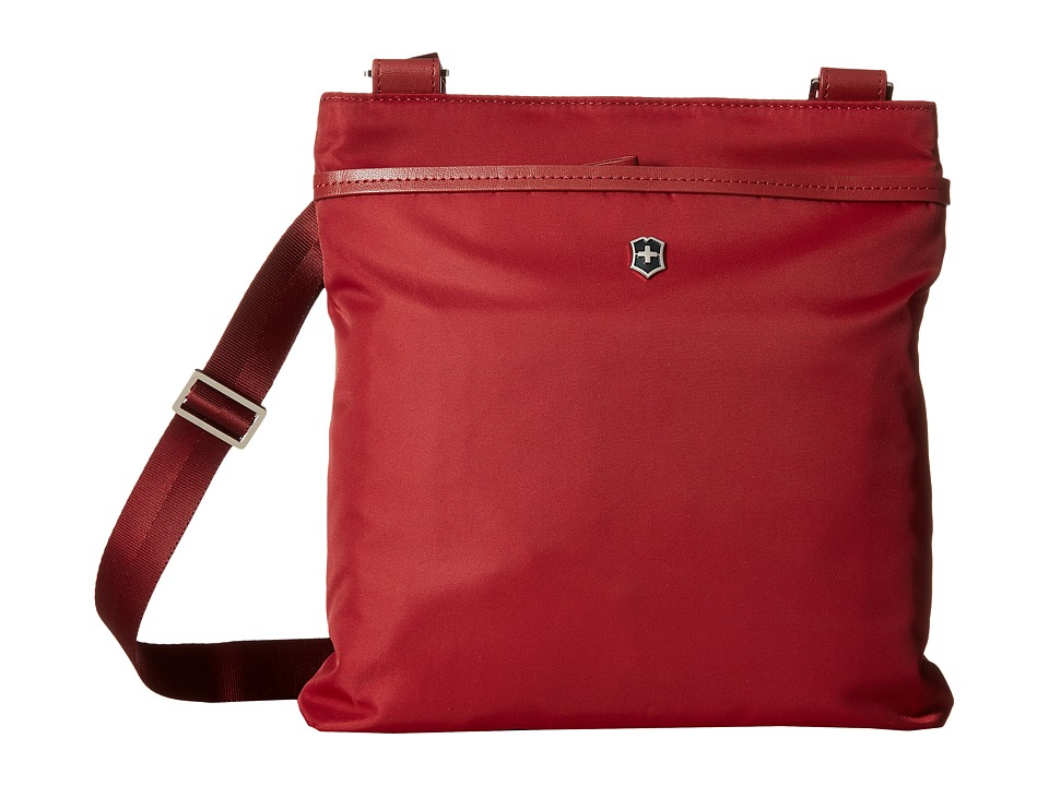 Victorinox - Victoria Affinity Crossbody Day Bag (Black Cherry) Cross Body Handbags