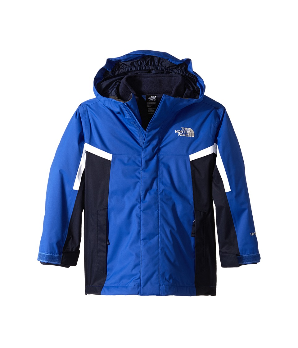 The North Face Kids - Nimbo Triclimate Jacket (Little Kids/Big Kids) (Monster Blue/Cosmic Blue/TNF White) Boy's Coat