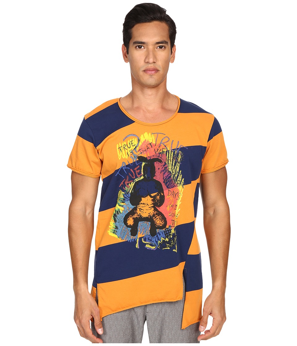 Vivienne Westwood - Anglomania Rum Bunny T-Shirt (Navy/Orange) Men's T Shirt