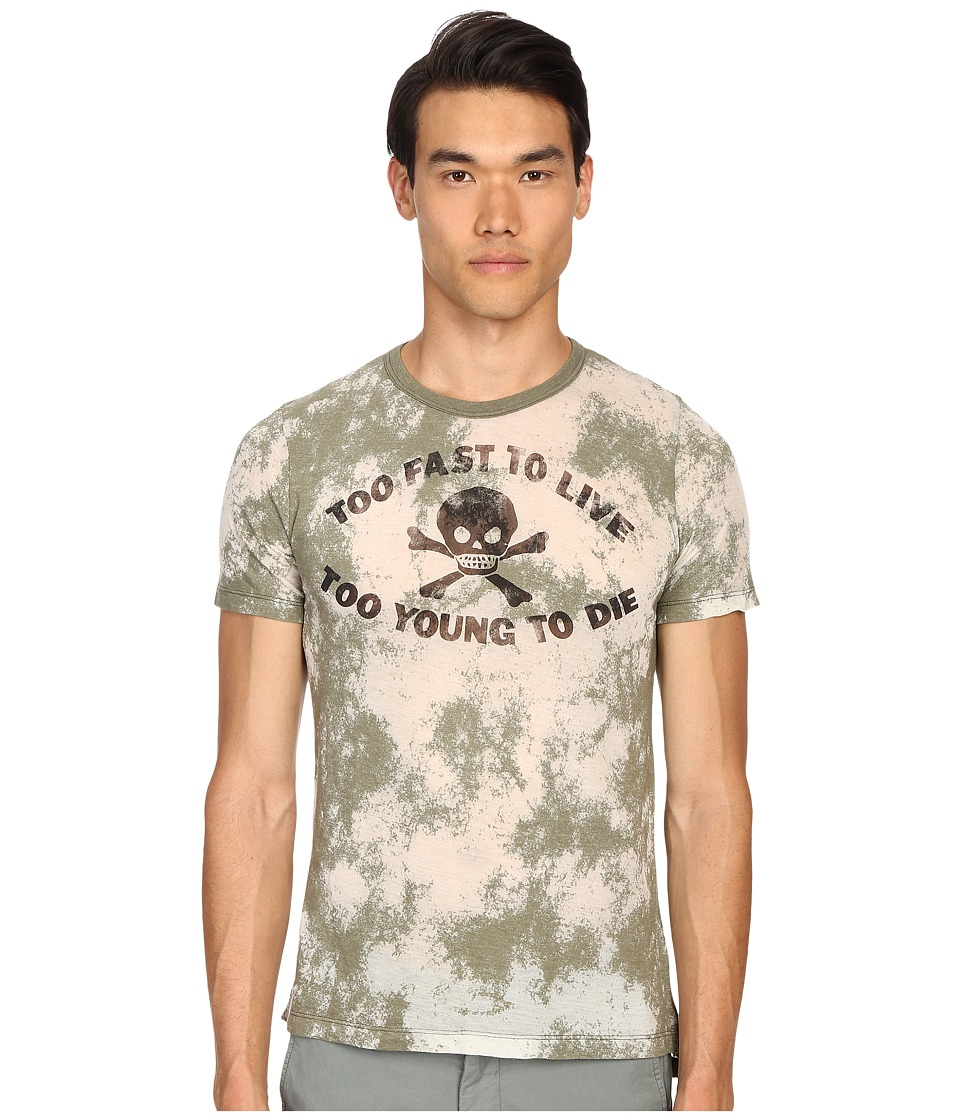 Vivienne Westwood - Anglomania Too Fast T-Shirt (Military Green) Men's T Shirt