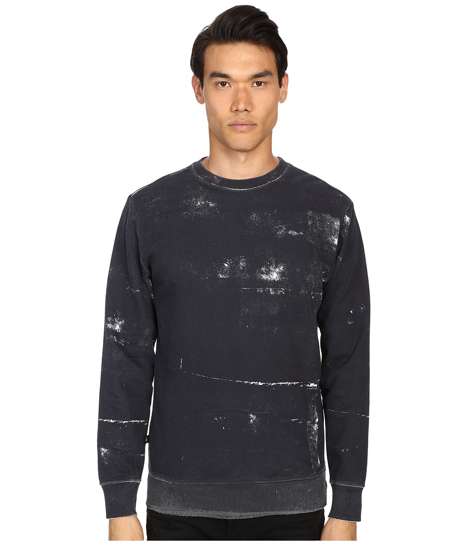 Vivienne Westwood - Anglomania Smudge Sweatshirt (Navy) Men's Sweatshirt