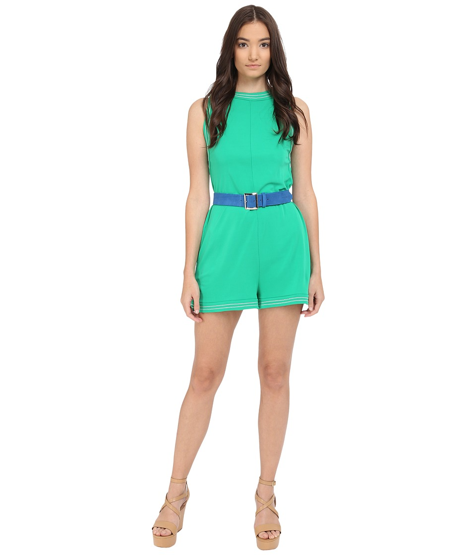DSQUARED2 - Crepe Viscose Jersey (Green) Women's Jumpsuit & Rompers One Piece