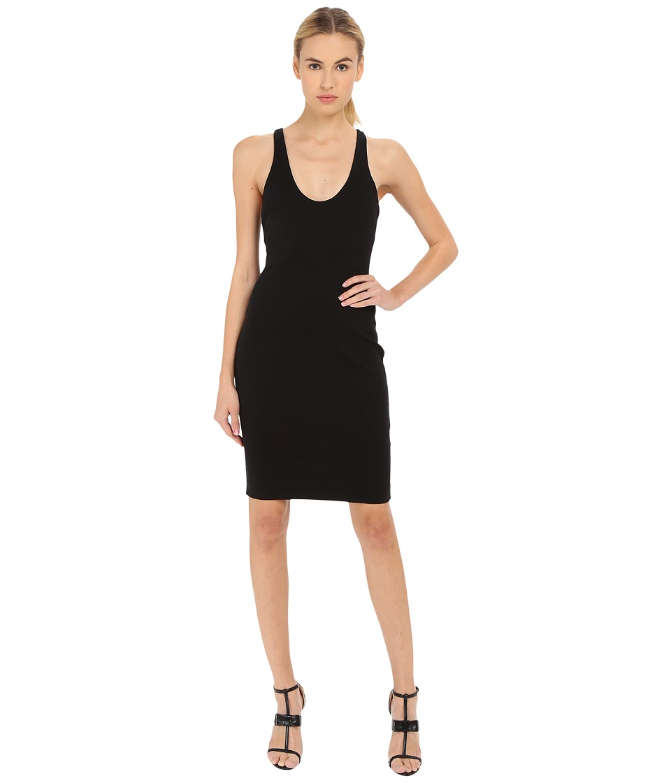 DSQUARED2 - Compact Jersey Dress (Black) Women's Dress