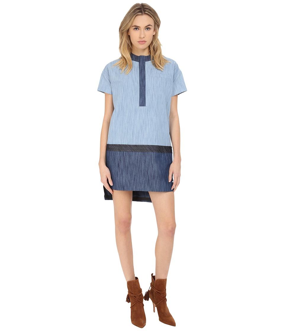 DSQUARED2 Liza Mini Dress (Blue) Women