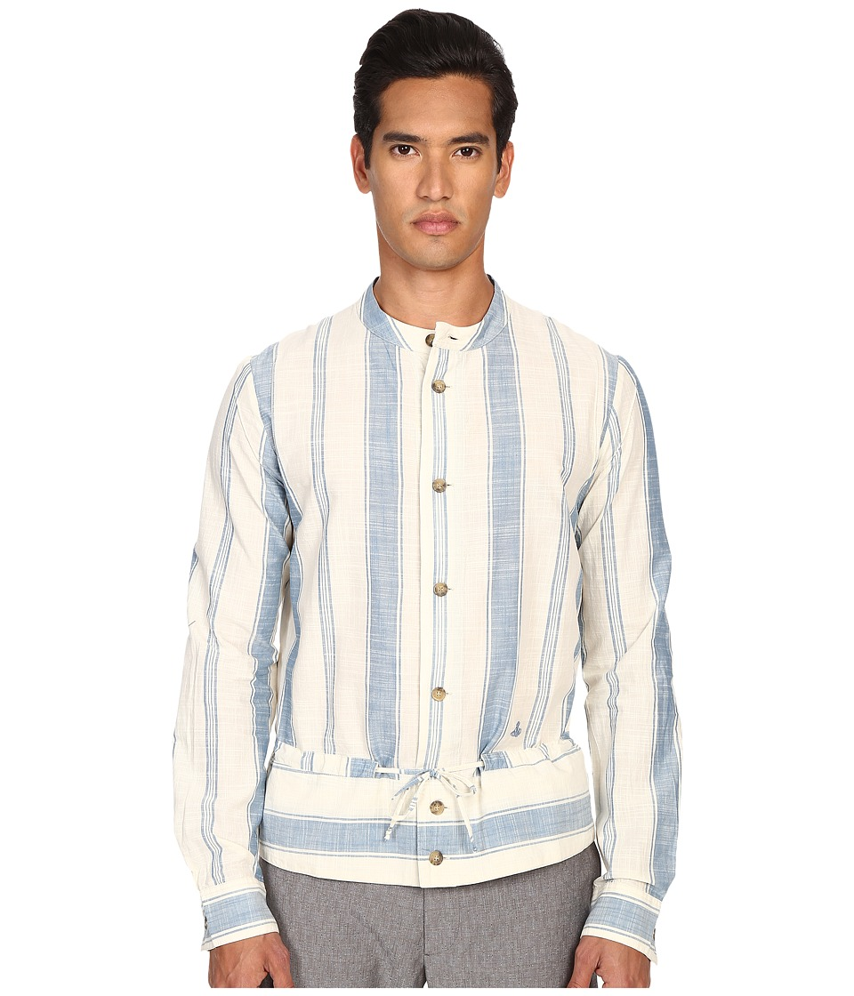 Vivienne Westwood - Anglomania Gypsy Shirt (White) Men's Long Sleeve Button Up