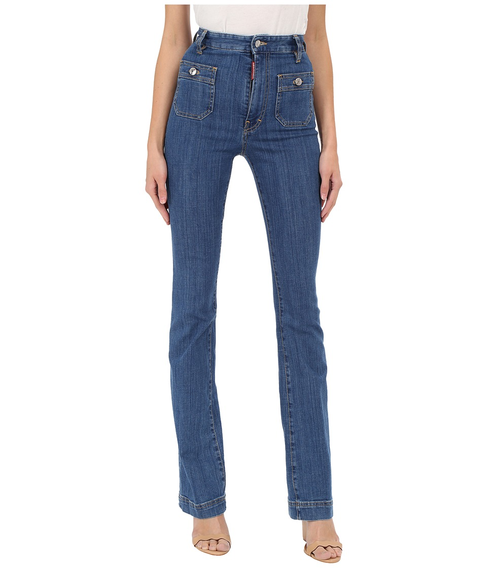 DSQUARED2 - California Iza Jeans in Blue (Blue) Women's Jeans