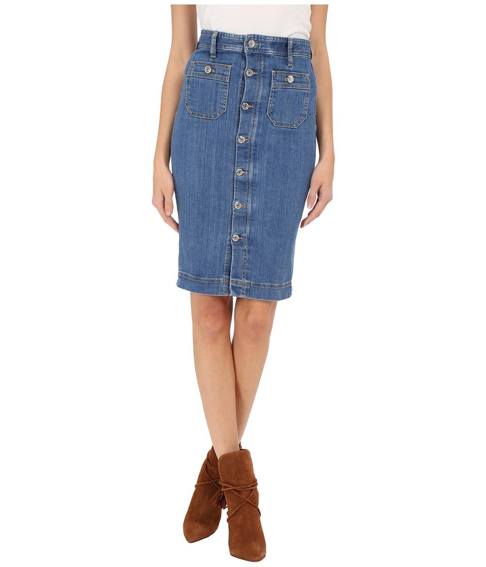 DSQUARED2 - Iza Skirt (Blue) Women's Skirt