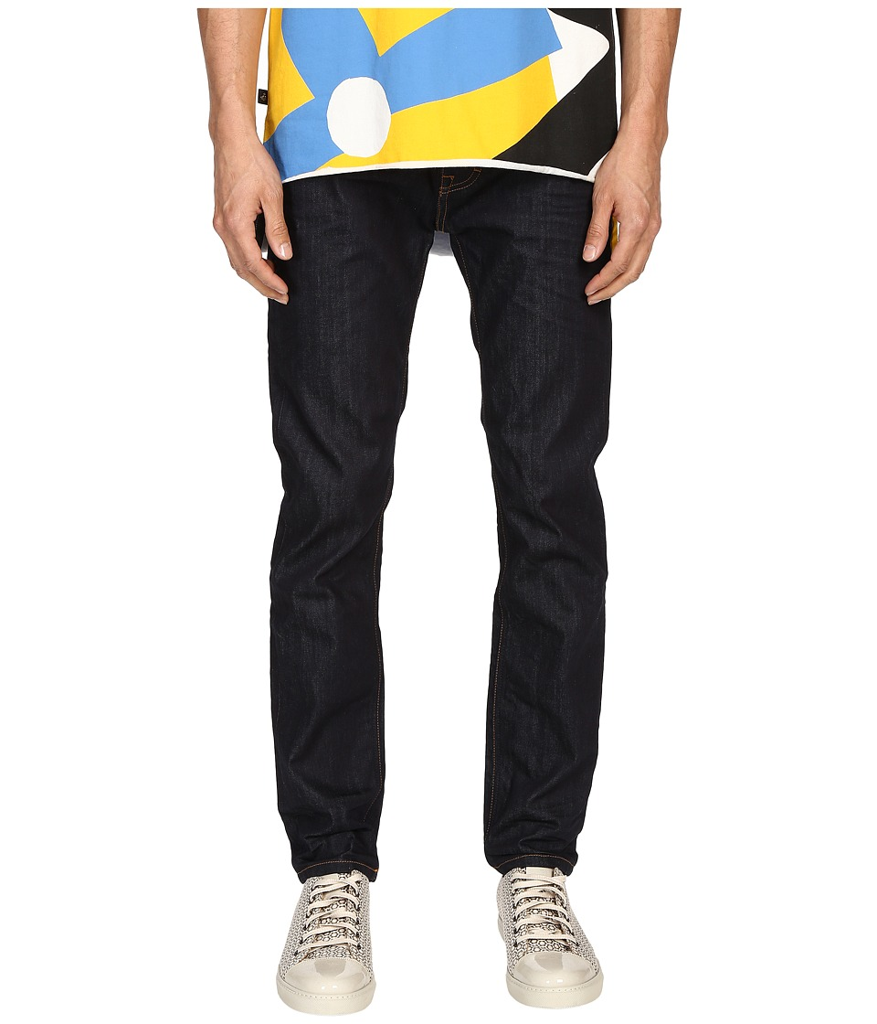 Vivienne Westwood - Anglomania Classic Tapered Jeans in Blue Denim (Blue Denim) Men's Jeans