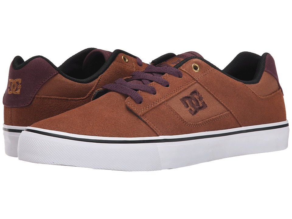 DC - Bridge (Coffee) Men's Skate Shoes