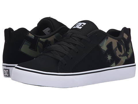 DC - Court Vulc SE (Black/Black/Black) Men's Lace up casual Shoes