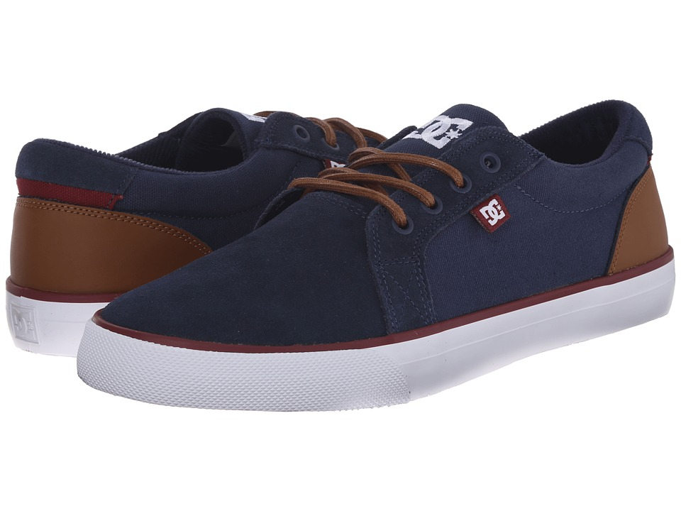DC - Council SD (Navy/Camel) Men's Skate Shoes