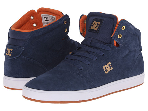 DC - Crisis High (Navy) Men's Skate Shoes
