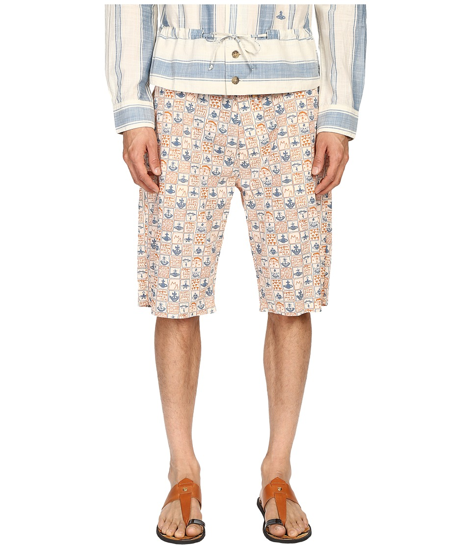 Vivienne Westwood - Anglomania Bob Shorts (Blue/Orange) Men's Shorts