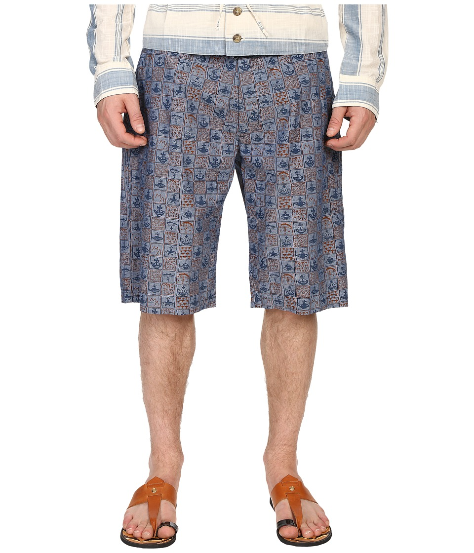 Vivienne Westwood - Anglomania Bob Shorts (Blue/Navy) Men's Shorts